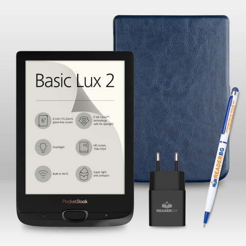 Разопакован PocketBook 616 Basic Lux 2 - промопакет