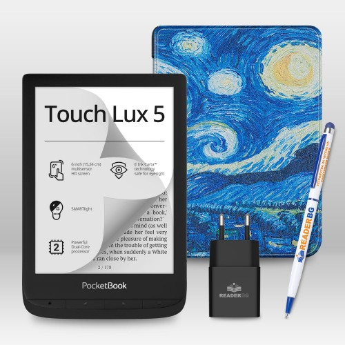 PocketBook 628 Touch Lux 5 - промопакет